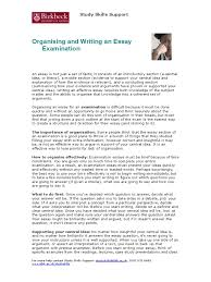 organising and writing essay examination essays argument