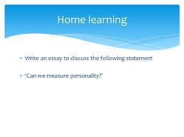 personality lesson of iuml ordf write an essay to discuss the 2 iuml128ordf write an essay
