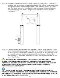 titan hd2 p 9000ac af 2 post lift manual 60hz 30 amp 10 14