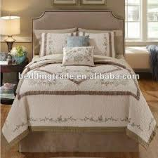 100% Cotton Quilting Bedspread 3-piece Queen Size Quilt Set Cotton ... & China 100% Cotton Quilting Bedspread 3-piece Queen Size Quilt Set Cotton  Bedding Set Adamdwight.com