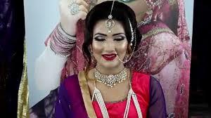 asian bridal makeup tutorial old bollywood inspired look viyah bridal 2016 08