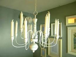 faux candle chandelier pillar faux pillar candle chandelier lighting