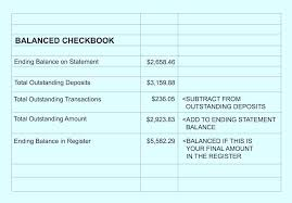 Checkbook Register Template Excel How To Do A Check Printable – Konfor