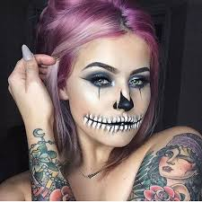 sy chola skull look just done on top of today s makeup when you gotta play