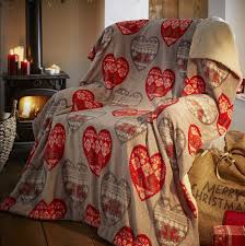 Christmas Fleece Throws Blankets