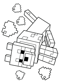 minecraft coloring sheets to print awesome printable coloring pages for toddlers minecraft animal coloring pages printable
