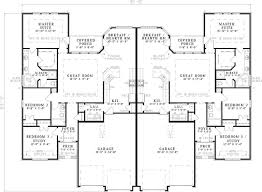 Smart placement two storey duplex house plans ideas new in simple best 25 on
