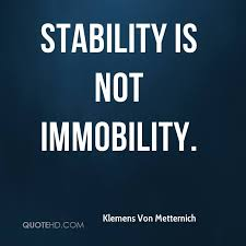 Image result for stability quotes