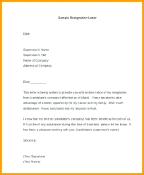 Resignation Letter Samples With Reason Sample Of Resignation Letter Example With Reason Better