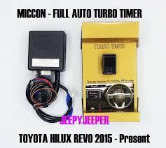 miccon full auto turbo timer control toyota all new hilux revo m full auto