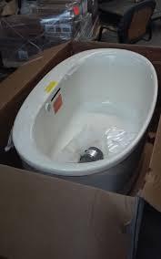kohler underscore air bath tub freestanding 5 ft 5702 g 96 jet motor included