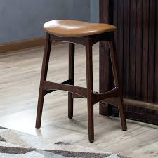 leather bar stools with arms. Brown Bar Stools Counter Height Chairs Living Carter Mid Century Modern Backless Stool . Leather With Arms D