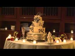 how to decorate wedding cake tables