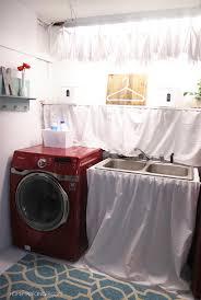 basement laundry room makeover homemade ginger unfinished basement laundry room makeover t55 makeover