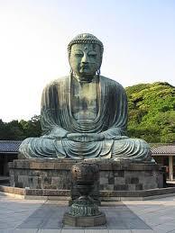 Буддизм Вікіпедія Великий Будда Аміда який медитує у Камакурі префектура Канаґава Японія