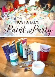 canvas painting party at home best 25 painting parties ideas on kids paint party
