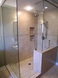 Master Bathroom Walk In Shower Designs Cadet Blue Futuristic Bathroom Shower  Wall Mounted White Bathtub Chrome