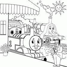 Printable Thomas The Train Coloring Pages Coloring Home
