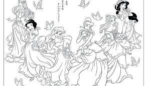 Stampabile Immagini Delle Principesse Disney Da Colorare Disegni