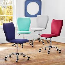 Teenage desk furniture Faux Fur Pbteen Twill Airgo Arm Armless Chair Pbteen