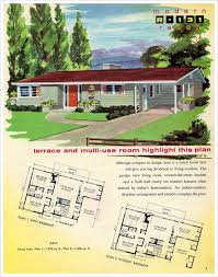 ranch style home plans with basement fresh 91 best mid century modern dream house plans images