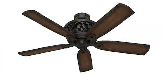 hunter 59546 promenade 3 led light 54 inch ceiling fans in brittany bronze with 5 burnished