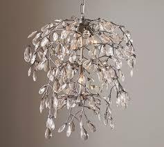 interior bella crystal round chandelier pottery barn regular wondeful 0 round crystal chandelier