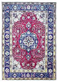 blue oriental rugs purple rug runner red and
