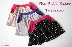 Skirt Patterns With Pockets Impressive Tutoriel Une Jupe à Poches Italiennes Girls Pinterest