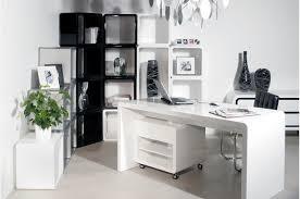 white home office desk. The Sleek White Office Furniture Bestartisticinteriors With Decor Home Desk