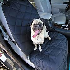 high quality pet waterproof car front seat cover mat black