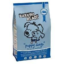 <b>Barking Heads</b> Корм Сухой для Щенков с Курицей, Лососем и ...