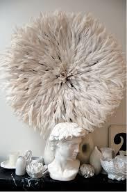 juju hat feather wall decor
