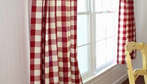 backdrop ray plaid panels dark diy big works curtain blu curtains vector image bedroom red back