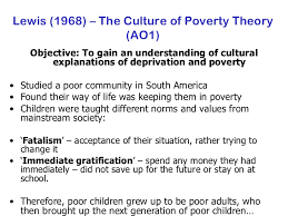 sociologyexchange co uk shared resource  29 lewis 1968 the culture of poverty theory