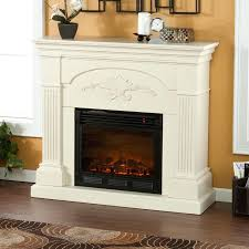 full image for white corner electric fireplace a center fireplaces design rugs wooden floor family room