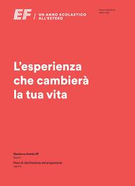 EF High School Exchange Year – Brochure Italia 2020/2021 by ...