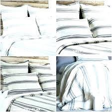 navy and white striped duvet cover ticking stripe light blue handmade