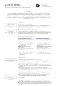 Project Coordinator Resume Samples Visualcv Database Sample Free