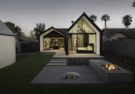 architectural home design. Backyard Of Renovated Modern House By Chen + Suchart Studio Architectural Home Design