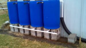 220gal rain water collection system
