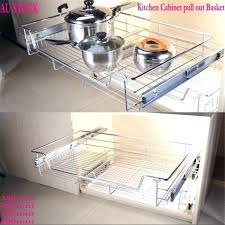 pull out baskets kitchen cabinets pull out baskets for kitchen cabinets pull out rattan baskets kitchen