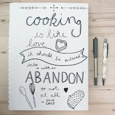 a fun and creative way of making your own cook book cover