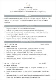 English Resume Template Fascinating This Is Resume Reference Template Goodfellowafbus