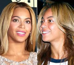 hollywood actress beyonce picture without makeup