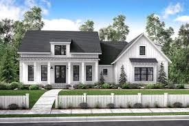 Architectural Designs 51766hz Plan 51766hz Mid Size Exclusive Modern Farmhouse Plan