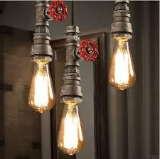 buy lighting fixtures. Retro Industrial Black Pipe Pendant Light Wrought Iron Hanging Lamp Shade Steampunk Faucet Plumbing Lighting Fixtures Buy I