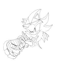 Shadow Sonic Boom Coloring Pages Shadow Sonic Coloring Pages To