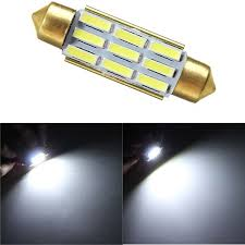decode lighting. 39MM 7020 9SMD Festoon Reverse Light Interior LED Decode Non-polar  With Radiating Function Decode Lighting