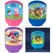 Shimmer And Shine Musical Night Light Details About Kids Character Night Lights Bedroom Paw Patrol Peppa Pig